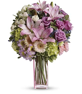 Teleflora's Artfully Yours Bouquet Flowers