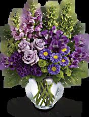 Lavender Charm Bouquet Flowers