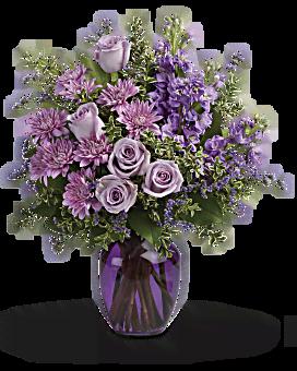 Bouquet Ensemble au crépuscule