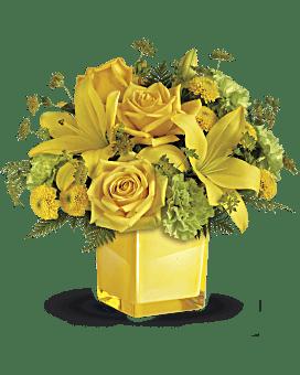 Bouquet Humeur radieuse de Teleflora