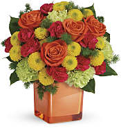 Citrus Smiles Bouquet Flowers