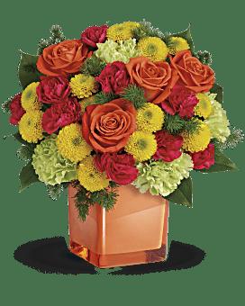 Teleflora's Citrus Smiles Bouquet Bouquet