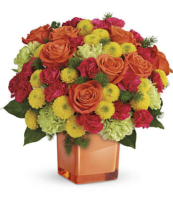 Teleflora's Citrus Smiles Bouquet Flowers