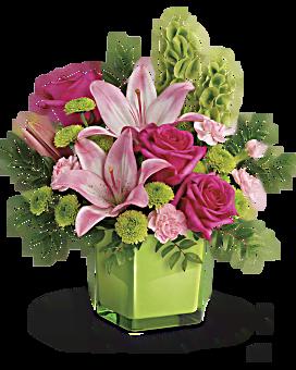 Bouquet Passion citron vert de Teleflora