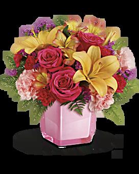 Flowers flower delivery send flowers online teleflora telefloras pop of fun bouquet bouquet mightylinksfo