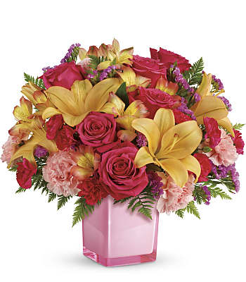 Teleflora's Pop Of Fun Bouquet Flowers