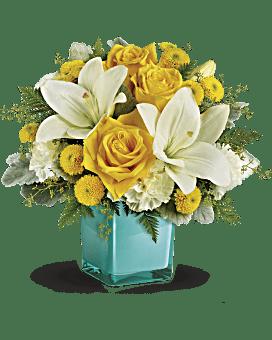 Flowers flower delivery send flowers online teleflora telefloras golden laughter bouquet bouquet mightylinksfo
