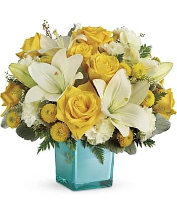 Golden Laughter Bouquet Flowers