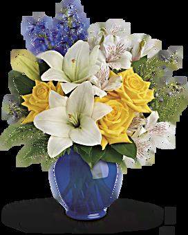 Bouquet Jardin au bord de la mer de Teleflora