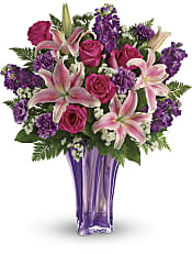Luxurious Lavender Bouquet Flowers