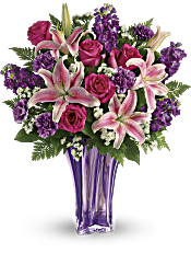 Teleflora's Luxurious Lavender Bouquet Flowers