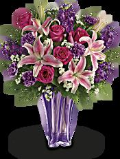 Teleflora's Luxurious Lavender Bouquet Flowers