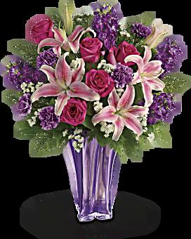 Bouquet Lavande luxueuse de Teleflora