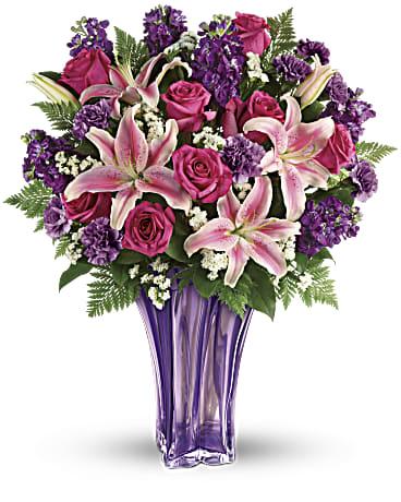 Telefloras Luxurious Lavender Bouquet Teleflora
