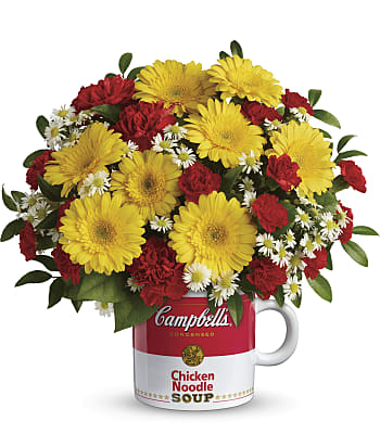 Campbell's Healthy Wishes Bouquet Flowers