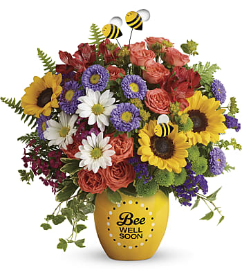 Teleflora's Garden Of Wellness Bouquet Flowers