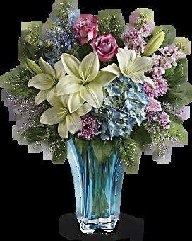 Bouquet Pirouette du cœur de Teleflora