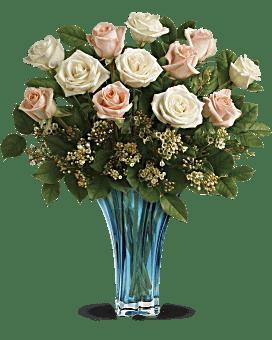 Bouquet Océan de roses de Teleflora