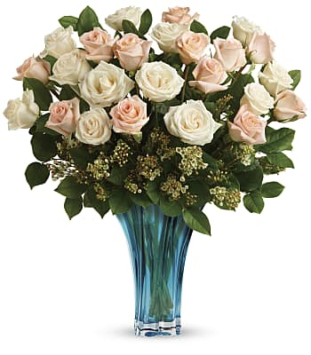 Teleflora's Ocean Of Roses Bouquet Flowers