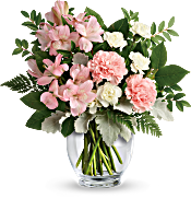 Teleflora's Whisper Soft Bouquet Flowers