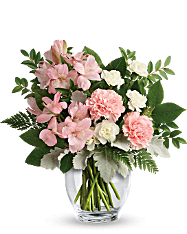 Teleflora's Whisper Soft Bouquet Bouquet
