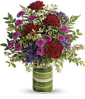 Teleflora's Vivid Love Bouquet Flowers