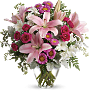 Blush Rush Bouquet DX Flowers