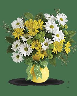 Marguerites et points bouquet de de Teleflora