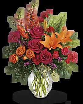 Poinçon de bouquet de couleur