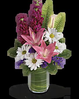 Teleflora's Playful Daisy Bouquet Bouquet