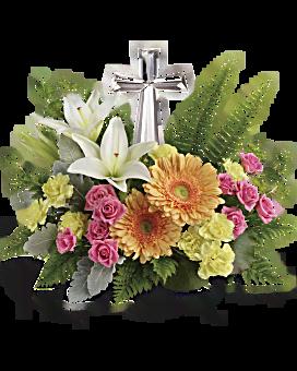Pétales précieux bouquet fleur arrangement floral de de Teleflora
