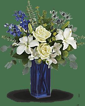 Cobalt calmant bouquet de de Teleflora