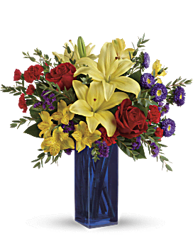 Teleflora's Flying Colors Bouquet Bouquet