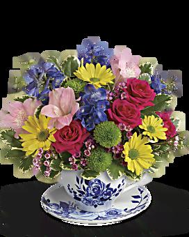 Jardin hollandais bouquet de de Teleflora