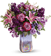 Teleflora's Amethyst Jewel Bouquet Flowers