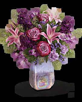 Teleflora's Amethyst Jewel Bouquet Bouquet