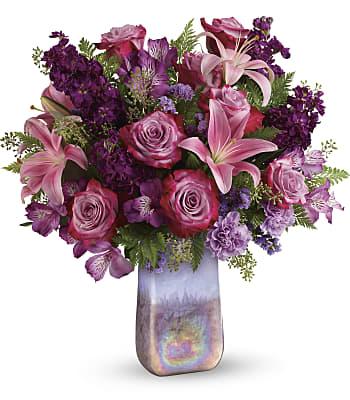 Teleflora's Amethyst Jewel Bouquet Flowers