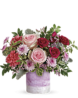 Teleflora's Washed In Pink Bouquet Bouquet