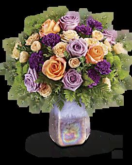Teleflora's Amethyst Sunrise Bouquet Bouquet