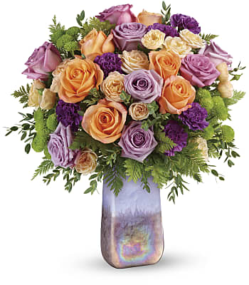 Teleflora's Amethyst Sunrise Bouquet Flowers