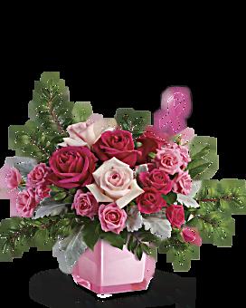 Teleflora's Pink Power Bouquet Bouquet