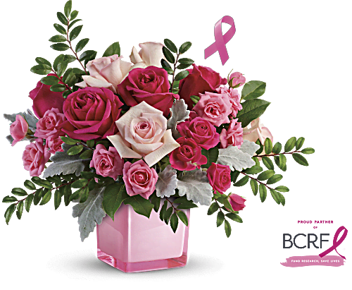 Teleflora's Pink Power Bouquet