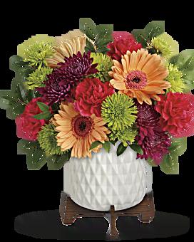 Teleflora's Mid Mod Brights Bouquet Bouquet