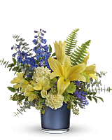 Teleflora's Sapphire Sunrise Bouquet