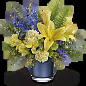 Teleflora's Sapphire Sunrise Bouquet Flowers
