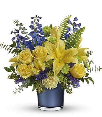 Sapphire Sunrise Bouquet Flowers
