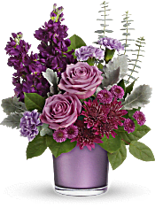 Teleflora's Always Amethyst Bouquet Flowers