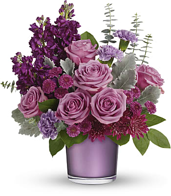 Always Amethyst Bouquet Flowers
