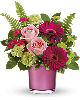 Teleflora's Regal Pink Ruby Bouquet Bouquet