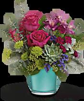 Teleflora's Topaz Wonderland Bouquet Flowers